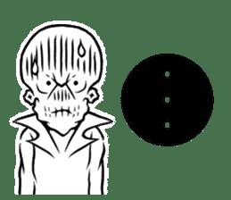 """""""Normal Mr.Skull's Life2"""" sticker #9999438"""