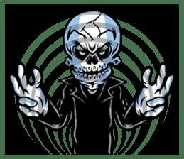 """""""Normal Mr.Skull's Life2"""" sticker #9999440"""