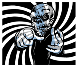"""""""Normal Mr.Skull's Life2"""" sticker #9999441"""