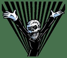 """""""Normal Mr.Skull's Life2"""" sticker #9999444"""