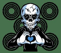 """""""Normal Mr.Skull's Life2"""" sticker #9999445"""