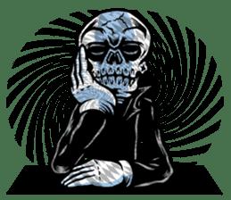 """""""Normal Mr.Skull's Life2"""" sticker #9999446"""