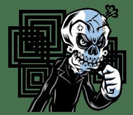 """""""Normal Mr.Skull's Life2"""" sticker #9999447"""