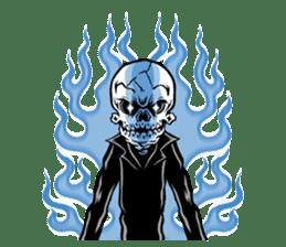 """""""Normal Mr.Skull's Life2"""" sticker #9999449"""