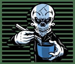 """""""Normal Mr.Skull's Life2"""" sticker #9999451"""