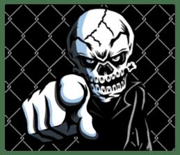"""""""Normal Mr.Skull's Life2"""" sticker #9999455"""