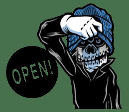 """""""Normal Mr.Skull's Life2"""" sticker #9999458"""