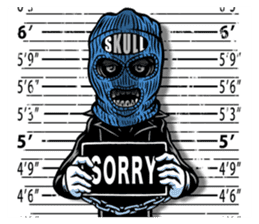 """""""Normal Mr.Skull's Life2"""" sticker #9999459"""
