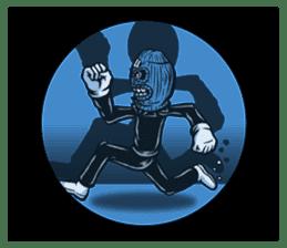 """""""Normal Mr.Skull's Life2"""" sticker #9999460"""