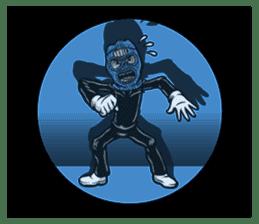 """""""Normal Mr.Skull's Life2"""" sticker #9999461"""