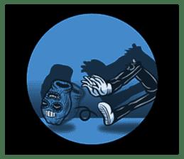"""""""Normal Mr.Skull's Life2"""" sticker #9999462"""