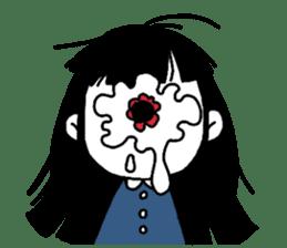 Mono Eye Girl sticker #10002789