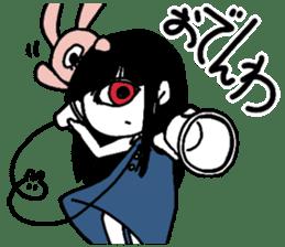 Mono Eye Girl sticker #10002803