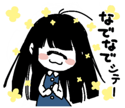 Mono Eye Girl sticker #10002811