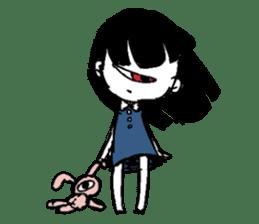 Mono Eye Girl sticker #10002822