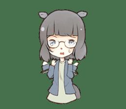 Kogi-P & Risutan sticker #10002870