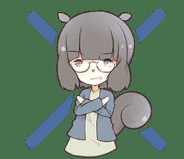 Kogi-P & Risutan sticker #10002873