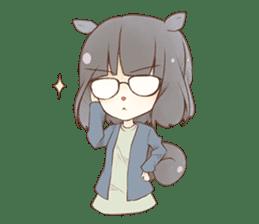 Kogi-P & Risutan sticker #10002876