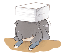 Kogi-P & Risutan sticker #10002890