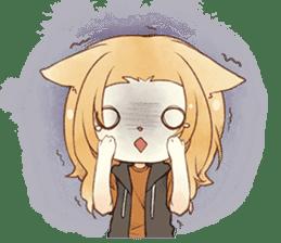 Kogi-P & Risutan sticker #10002896
