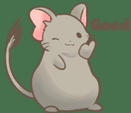 Kori-tan: the Cute Degu sticker #10018744