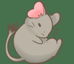 Kori-tan: the Cute Degu sticker #10018753