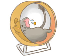 Kori-tan: the Cute Degu sticker #10018768