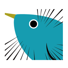 Sometimes annoying blue bird