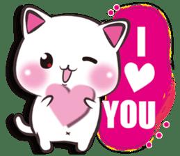 Nyamenuko lovers international sticker #10029704