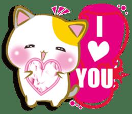 Nyamenuko lovers international sticker #10029705