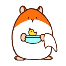 Very cute hamster stickers sticker #10033968
