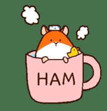 Very cute hamster stickers sticker #10033969