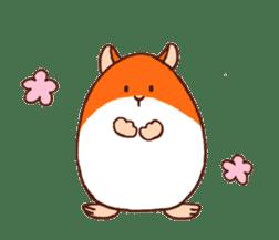 Very cute hamster stickers sticker #10033971