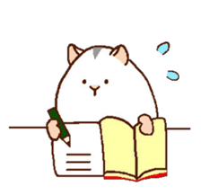 Very cute hamster stickers sticker #10033972