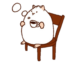 Very cute hamster stickers sticker #10033974