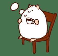 Very cute hamster stickers sticker #10033974