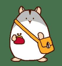 Very cute hamster stickers sticker #10033976