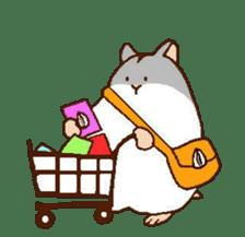 Very cute hamster stickers sticker #10033977