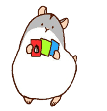 Very cute hamster stickers sticker #10033978
