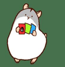 Very cute hamster stickers sticker #10033978