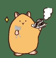 Very cute hamster stickers sticker #10033981