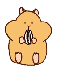 Very cute hamster stickers sticker #10033982