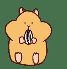 Very cute hamster stickers sticker #10033982