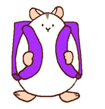 Very cute hamster stickers sticker #10033988