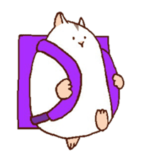 Very cute hamster stickers sticker #10033989