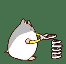 Very cute hamster stickers sticker #10033992