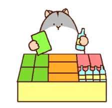 Very cute hamster stickers sticker #10033995