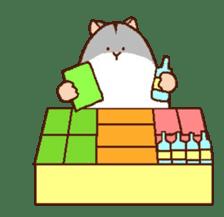 Very cute hamster stickers sticker #10033995