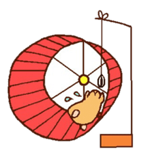 Very cute hamster stickers sticker #10033997