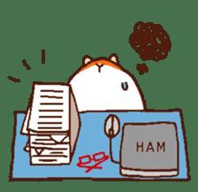 Very cute hamster stickers sticker #10034001